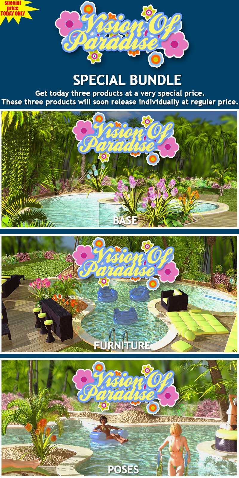 Vision Of Paradise BUNDLE