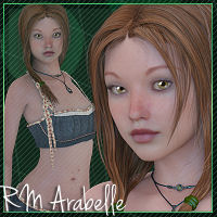 RM Arabelle V4 3D Figure Essentials rebelmommy