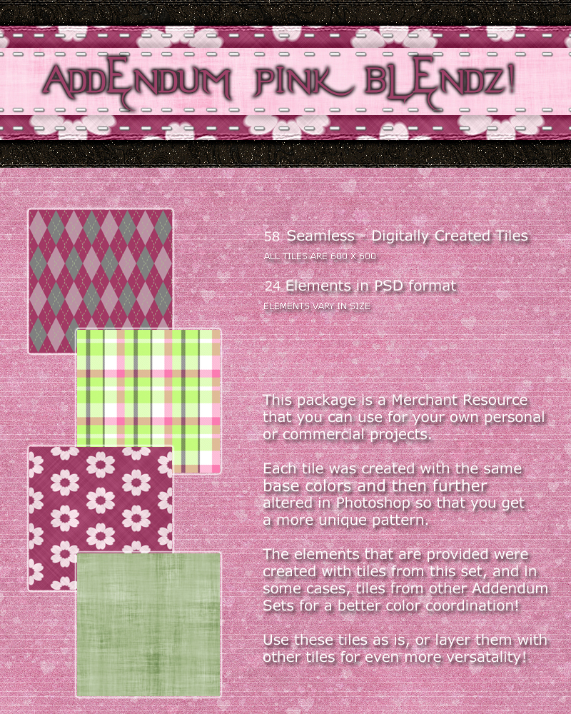 Addendum SoftPink Blendz!