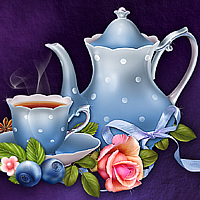 Moonbeam's Tea Time 3D Models moonbeam1212