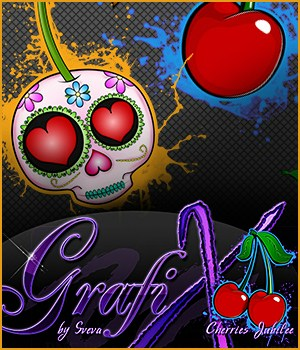 GrafiX by Sveva Vol. 01 - Cherries Jubilee 2D Graphics Merchant Resources Sveva