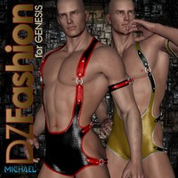 DZ EroGear Set 2 for Genesis 3D Figure Essentials dzheng