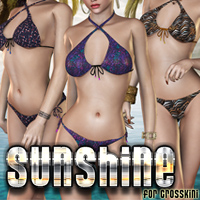 Sunshine for CrossKini 3D Models 3D Figure Essentials FrozenStar