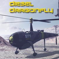 Diesel Dragonfly Themed Transportation 1971s