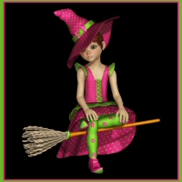 K4 Witchy Poo 3D Figure Essentials 3DTubeMagic