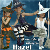 Hazel Themed Clothing JudibugDesigns