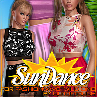 Sundance for FASHIONWAVE: Wild One 3D Figure Assets ShanasSoulmate
