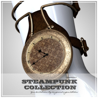 SP - TimeKeeper for V4 and M4 3D Figure Assets 3D Models jonnte