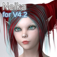 MDD Neika for V4.2 Characters Themed Maddelirium
