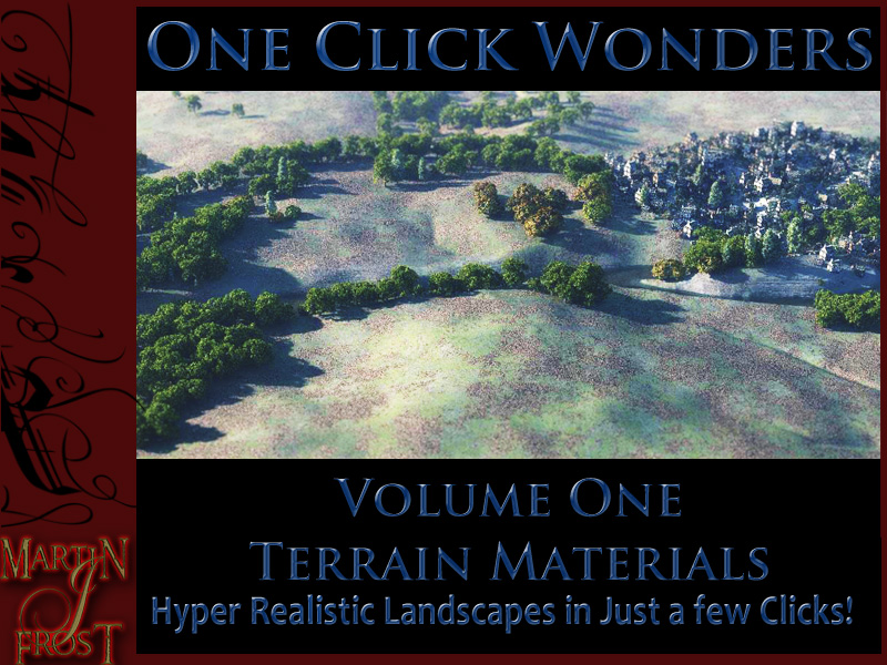 Terrain Materials - 1 click wonders vol 1