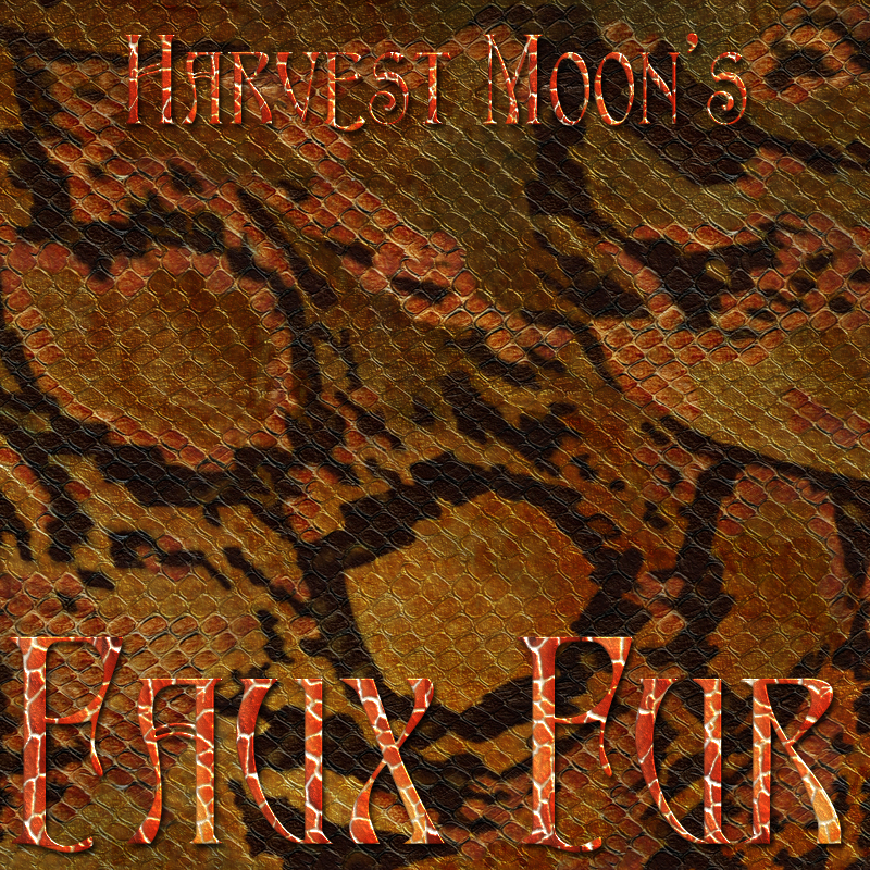 Harvest Moons Faux Fur