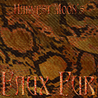 Harvest Moons Faux Fur  2D 3D Models MOONWOLFII