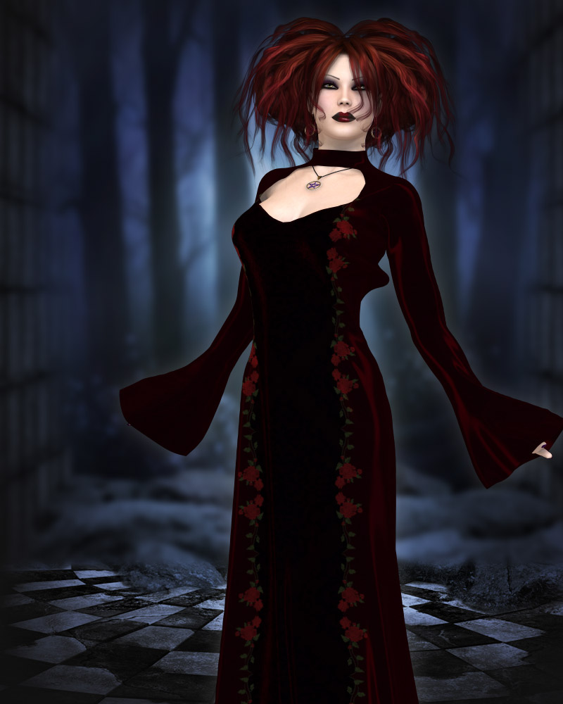 The Witches Gown by kaleya