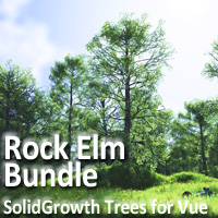Rock Elm Bundle 3D Models martinjfrost