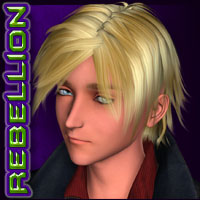 REBELLION: Hair 03 Stylized image 1
