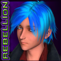 REBELLION: Hair 03 Stylized image 3