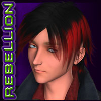 REBELLION: Hair 03 Stylized image 4