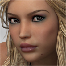 P3D Faces II 3D Figure Assets Merchant Resources P3Design