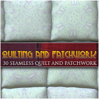 Quilting and Patchwork 2D Graphics lilflame