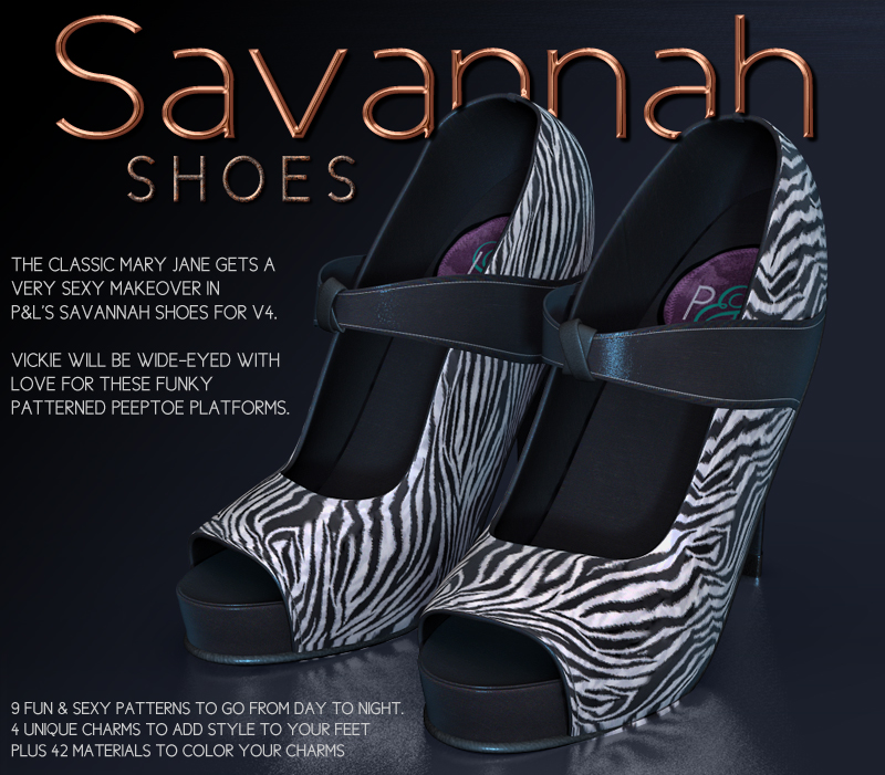 Savannah Shoes by Lyoness