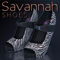 Savannah Shoes 3D Figure Essentials Lyoness
