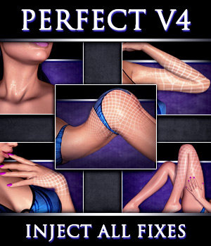 Perfect V4 Complete - Full Body Fix 3D Figure Assets Xameva