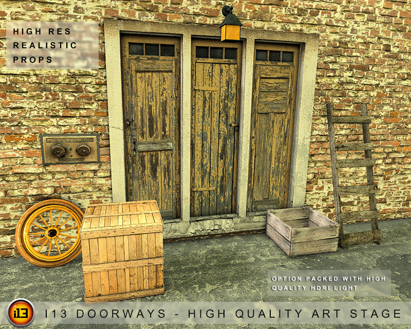 i13 Doorways - High Quality Art Stage