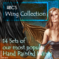 ABC's Wing Collection 2D And/Or Merchant Resources Themed Bez