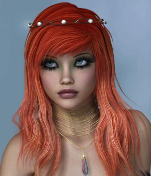 Berrit Hair for V4 by SWAM