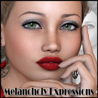 Melancholy Expressions by Freja