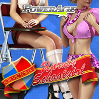 Unruly Schoolgirl V4/A4/G4/Elite Clothing Footwear Poses/Expressions powerage