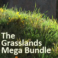 Grasslands Mega Bundle 2D 3D Models martinjfrost