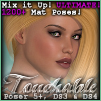 Touchable Miss Themed Hair -Wolfie-