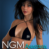 NGM for Anastasia 3D Figure Assets Posermatic