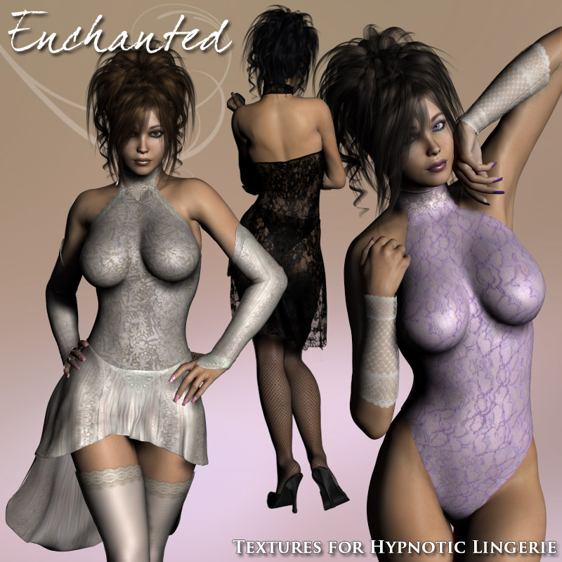 Enchanted for Hypnotic Lingerie