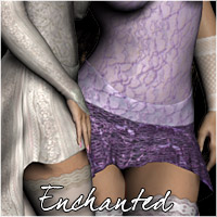 Enchanted for Hypnotic Lingerie 3D Figure Assets RPublishing