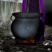 The Witches Cauldron 3D Models kaleya