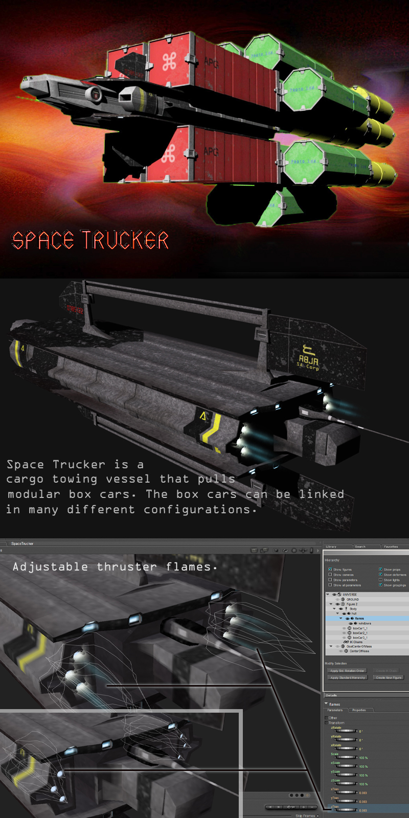 SpaceTrucker