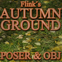 Flinks Autumn Ground Themed Props/Scenes/Architecture Flink