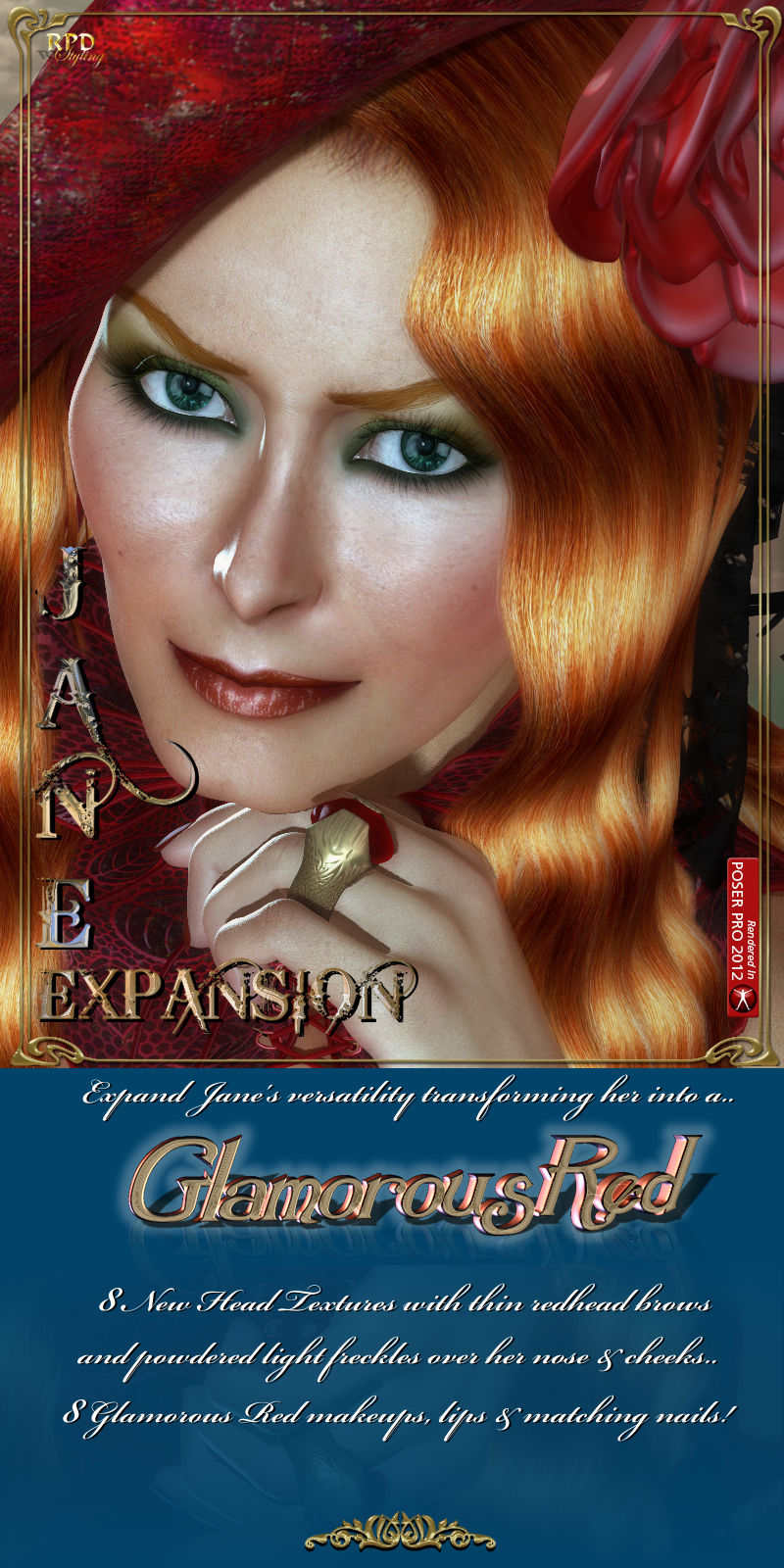 Jane-EXPANSION - Glamorous Red