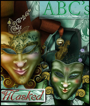 ABC's Masked 2D Graphics antje