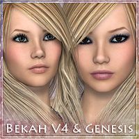 Bekah for V4 & Genesis 3D Figure Essentials Vex