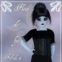 Fleur de lys - K4 Clothing Themed Amaranth