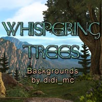 Whispering Trees 3D Models 2D Graphics didi_mc