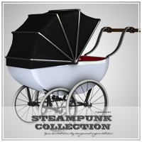 SP - Baby Carriage 3D Models jonnte