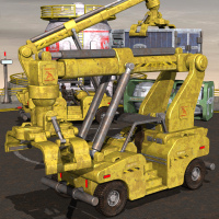 CargoLift And Containers by Nightshift3D