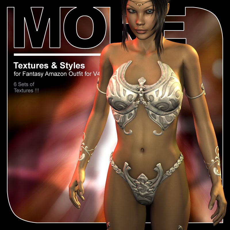 MORE Textures & Styles for Fantasy Amazon Outfit