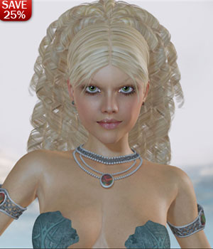 HOT Crystal Diva 3D Figure Assets 3D Models lululee