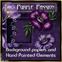 ABC Purple Passion 2D And/Or Merchant Resources Themed Bez