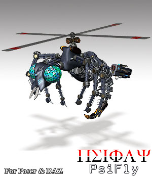 PsiFly Robot Insect 3D Models Simon-3D